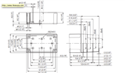 MNX PC / ABS 100H Enclosure Schematic from Eurobox