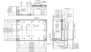 MNX PC / ABS 200XH Enclosure Schematic from Eurobox