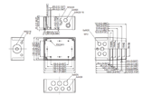 MNX PCM 150X Enclosure Schematic from Eurobox