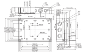 MNX PCM 200 Enclosure Schematic from Eurobox