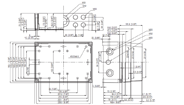 MNX PCM 200 X Enclosure Schematic from Eurobox