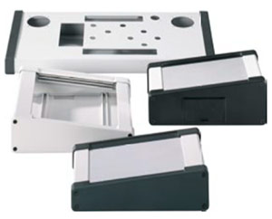 Multi-Aluminium Keyboard Enclosures TAST Enclosure from Eurobox