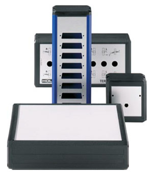 Multi-Aluminium Profile Enclosures Delta-Box Enclosure from Eurobox